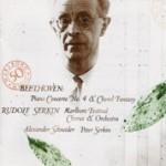 Beethoven: Piano Concerto No 4, Choral Fantasy / Serkin, Schneider