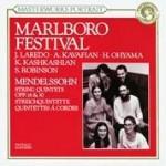 Marlboro Festival - Mendelssohn: String Quintets / Laredo, Kavafian