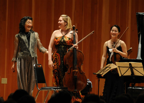 Artistic Director Mitsuko Uchida with Participants