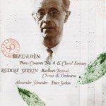 Beethoven: Piano Concerto No. 4, Choral Fantasy / Serkin, Schneider