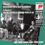 Marlboro Fest 40th Anniversary- Busch: Divertimento; Schubert / Busch, Serkin