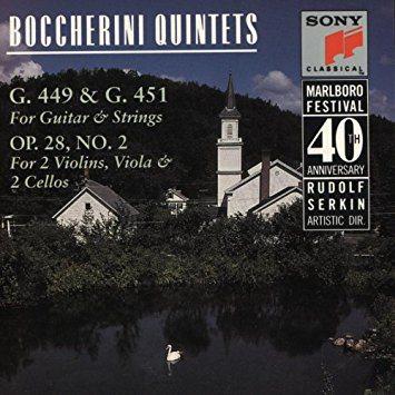 Marlboro Fest 40th Anniversary – Boccherini Quintets