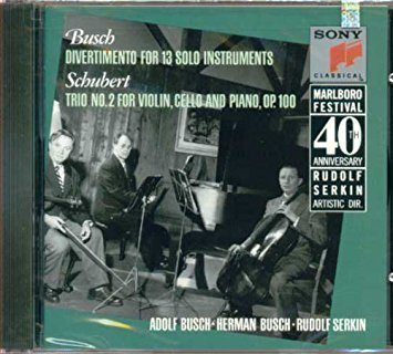 Marlboro Fest 40th Anniversary- Busch / Schubert