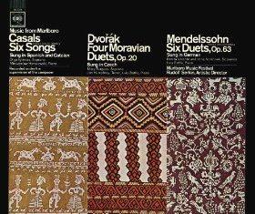 Music From Marlboro – Casals: Six Songs; Dvorak, Mendelssohn: Duets