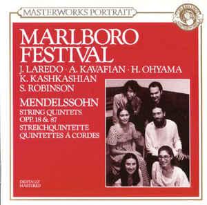 Marlboro Festival – Mendelssohn: String Quintets