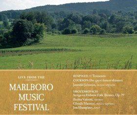 Live From Marlboro – Respighi, Cuckson, Shostakovich