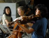 Mitsuko Uchida, Judith Serkin, Maiya Papach. Photo by Pete Checchia.