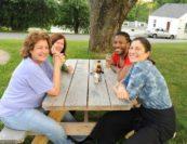 Marcy Rosen, Lydia Brown, Hassan Anderson, Kim Kashkashian. Photo by Pete Checchia.