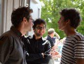 Brad Balliett, Roman Rabinovich, Zoltán Fejérvári. Photo by Pete Checchia.