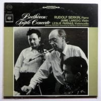 Beethoven Triple Concerto LP