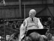 """Casals was a master musician and it was magnificent to sit there and watch him work out the musical reservoirs of, say, the opening theme of Schumann's Second Symphony.  Of course it would take hours to do, and he would have as many rehearsals as he liked to put these things together. Whenever anybody started slowing up or going faster or not keeping to the tempo, he used to say, 'Fantasy within the tempo.  Liberty with order.'"" 